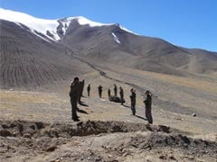 Image result for pics of chinese troops in sikkim border