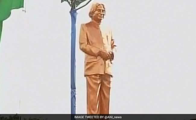 Former President APJ Abdul Kalam's Statue Unveiled In Rameswaram