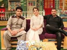 <I>Jag Ghoomke</i> Kapil Sharma <I>Ke</i> Show <I>Par</i>: Salman, Anushka Promote <I>Sultan</i>