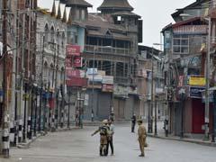 कश्मीर के अनंतनाग, कुलगाम और पुलवामा जिलों में कर्फ्यू गुरुवार को भी जारी