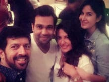 Katrina Kaif and a Khan Star in This Party Picture