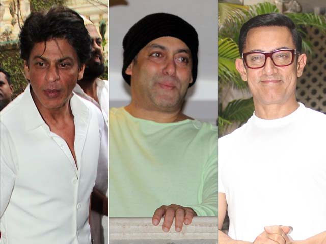 Eid With the Khans: How Salman, Shah Rukh and Aamir Celebrated