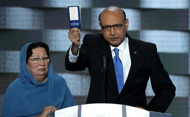 Backlash For Trump After He Lashes Out At Parents Of Muslim Solider