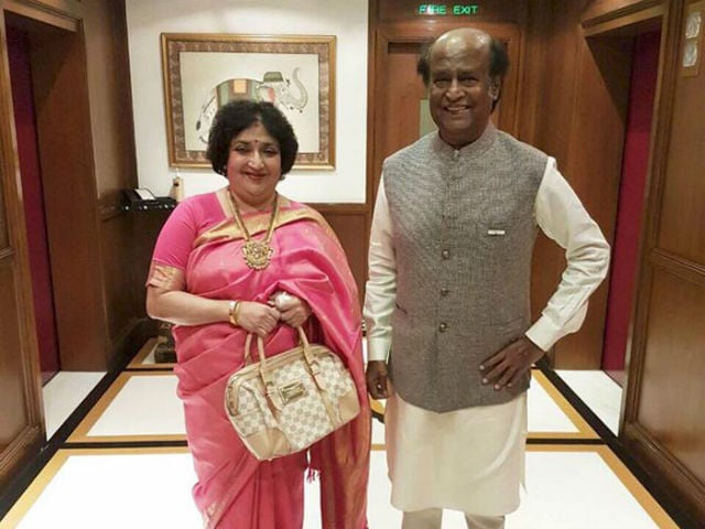 Latha Rajinikanth Gets Supreme Court Notice Over Kochadaiiyaan Rights