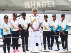 महादेई नौका पर अभियान को पूरा कर नौसेना की महिलाओं का दल लौटा