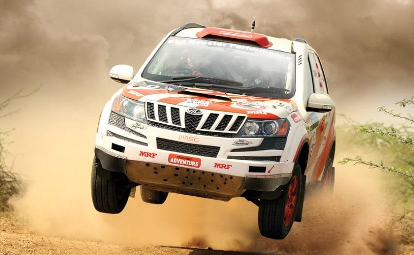 mahindra xuv500 inrc rally
