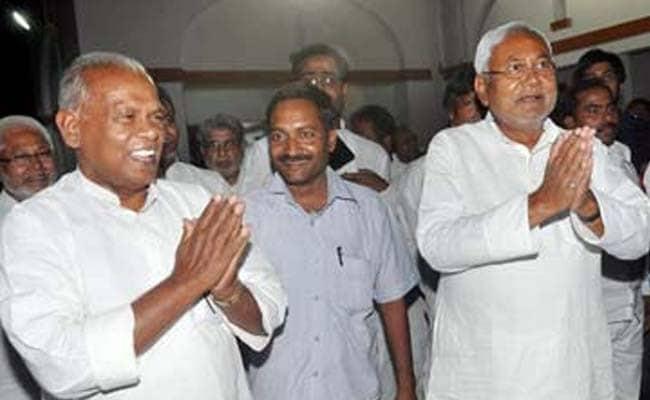 Rivals Nitish Kumar, Jitan Manjhi Attend Lalu Prasad's Iftaar Party