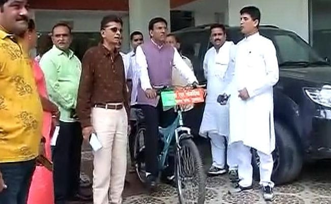 Will You Cycle To Oath Event? Mansukh Mandaviya, Minister Again, Answers