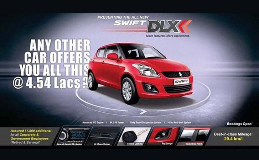 Maruti Suzuki Swift DLX Edition
