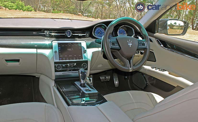 Maserati Quattroporte Cabin