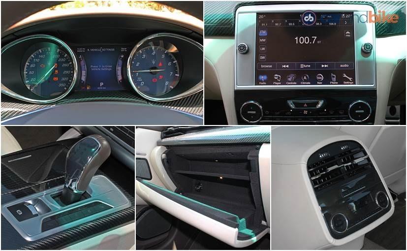 Maserati Quattroporte Features