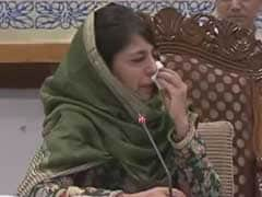 Mehbooba Mufti Breaks Down At All-Party Meet On Kashmir