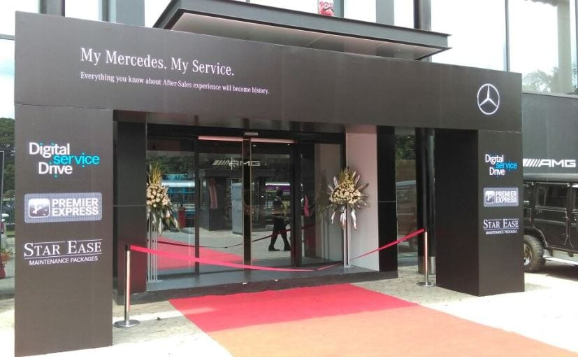 Mercedes benz india launches 39 my mercedes my service for Mercedes benz service near me