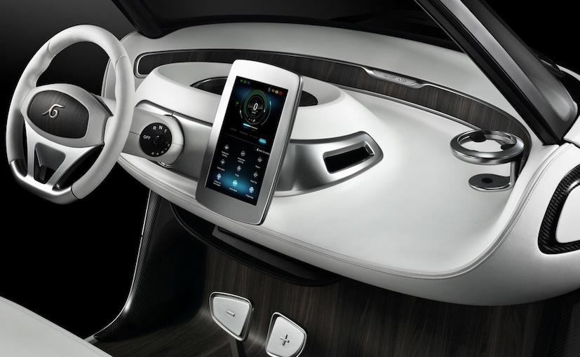 Mercedes Garia Golf Cart Dashboard