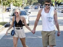 Miley Cyrus Instagrams Liam Hemsworth Pic. Caption Reads 'Love'