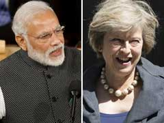 PM Narendra Modi Speaks To British Counterpart Theresa May