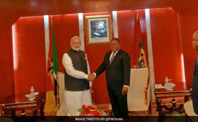 PM Modi Reaches Mozambique, Says Africa Visit Aimed At Enhancing Ties