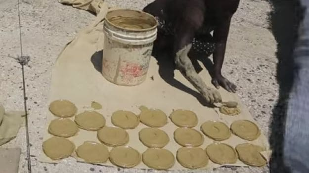 'Mud Cake' - A Delicacy Made With Mud in Poverty Stricken Haiti