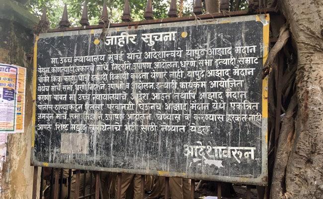 मुंबई में विरोध प्रदर्शनों ने चौपट किया यातायात, अदालत के आदेश की अवमानना