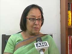 Former Union Minister Najma Heptulla Appointed Manipur Governor