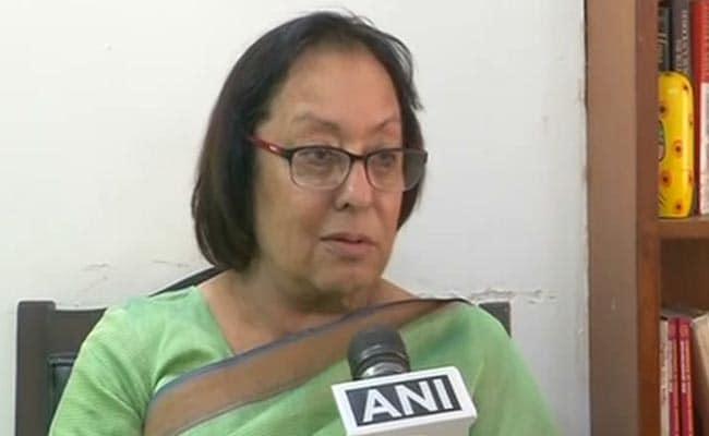 Najma Heptulla Appointed First Woman Chancellor Of Jamia Millia Islamia