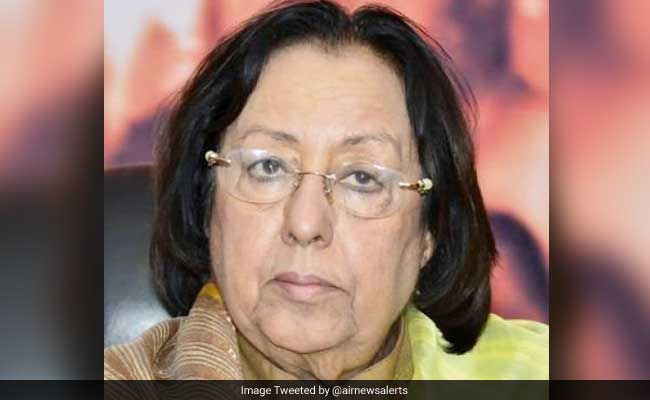 Najma Heptulla To Unfurl National Flag At Jamia Millia Islamia