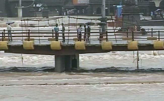 Water Crosses 75 Per Cent In Nashik Dam After Heavy Rain In Maharashtra