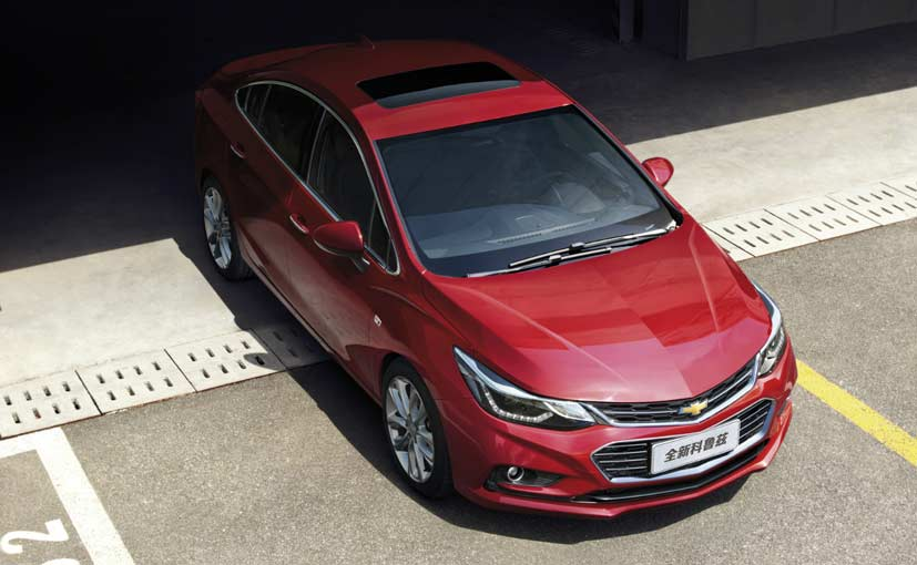 India Bound New Chevrolet Cruze Launched In China Ndtv Carandbike