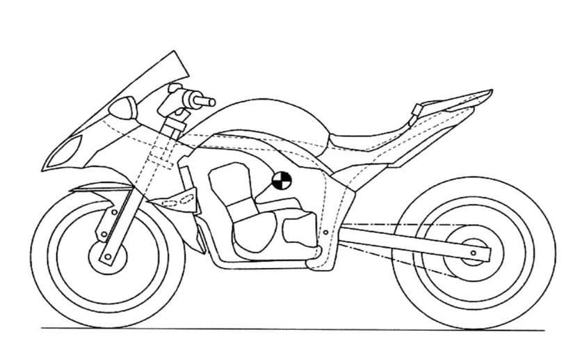 New Kawasaki Ninja 1000 Patent Drawing
