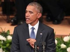Barack Obama Tells Memorial US 'Not As Divided As We Seem'