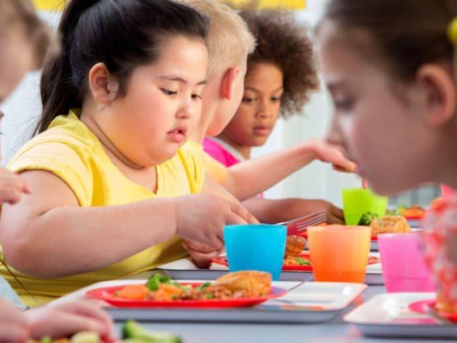 Obesity problems in children can be a health hazard