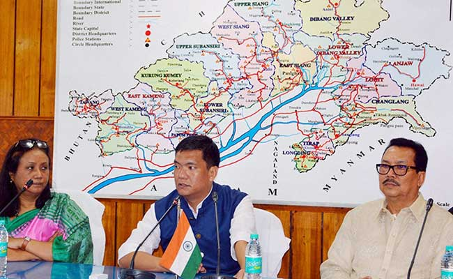 Centre's Flood Relief Funds Meagre: Arunchal Chief Minister Pema Khandu