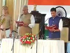 Pema Khandu Takes Oath As Arunachal Chief Minister