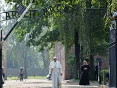 Pope Francis Walks Alone Through Horrors Of Auschwitz