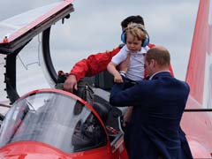 Britain's Prince George gets To Pilot A Jet - Almost