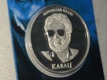 Rajinikanth's Brand <I>Kabali</i> is on Silver Coins Now