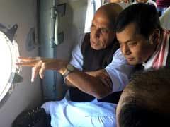 Home Minister Visits Flood-Hit Assam; 13 Dead, 18 Lakh Affected