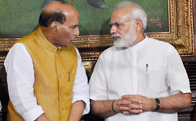 Amid Rising Tension In Kashmir, Home Minister Rajnath Singh Postpones US Visit