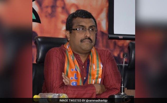 Center open to have unconditional dialogue with Kashmiri separatists: Ram Madhav