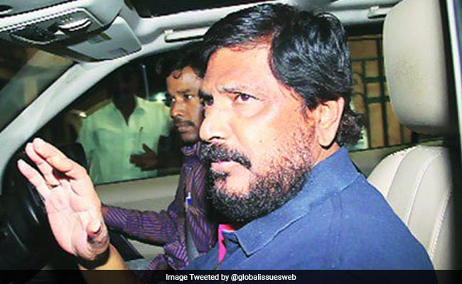 Did Not Intend To Hurt Sentiments: Ramdas Athawale On Fuel Price Remark