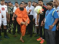 Bollywood vs Politicians in Charity Football, Kicked-Off by Baba Ramdev