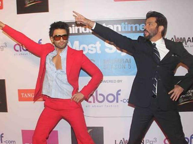 When Ranveer Singh 'Acted Like' Anil Kapoor While Filming Befikre