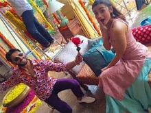 In Which Ranveer Singh Presents <I>Beauty-Phool</i> Alia Bhatt With a Rose