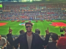 Ranveer Singh Was at the Wales vs Portugal Match. Best Birthday Ever?