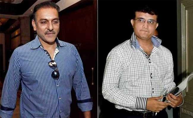 टीम इंडिया के मुख्य कोच रवि शास्त्री और सौरव गांगुली के बीच अभी भी सब कुछ ठीक नहीं!