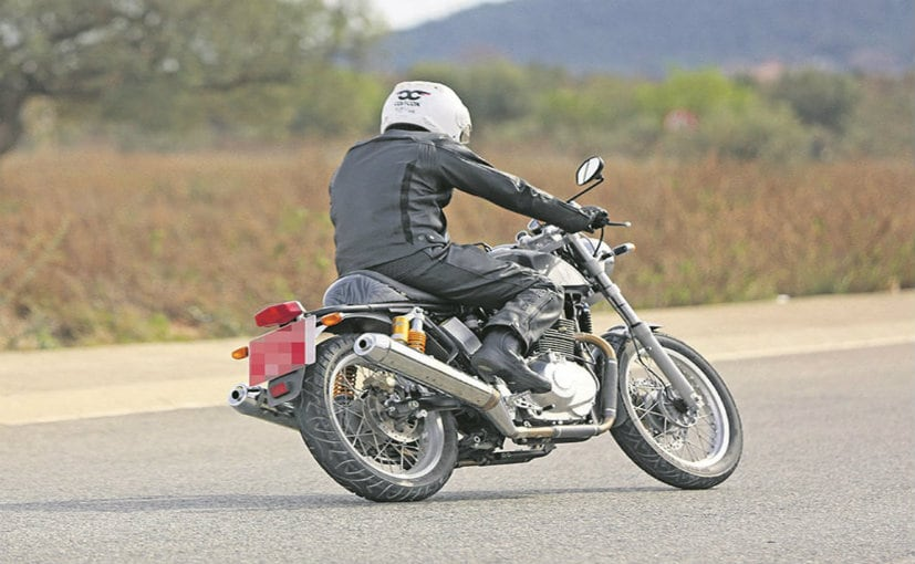 royal enfield 750cc motorcycle spotted testing ndtv carandbike. Black Bedroom Furniture Sets. Home Design Ideas
