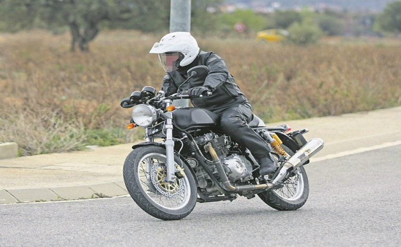 Royal Enfield 750cc Motorcycle Spotted Testing
