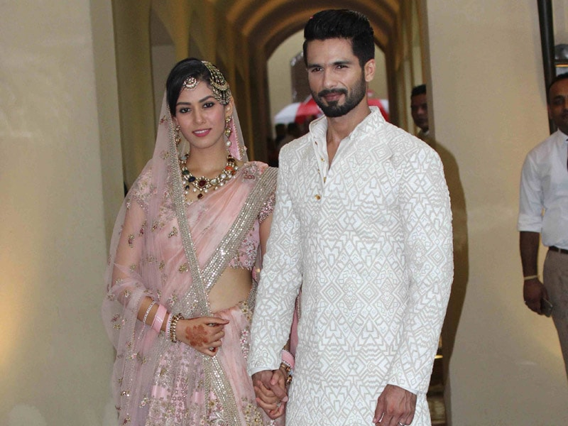 Shahid, Mira Celebrated First Anniversary. Here Are 10 Shaandaar Pics