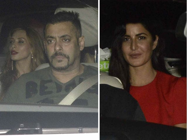 Asli Jhatka: Salman Khan Watches Sultan With Iulia, Katrina