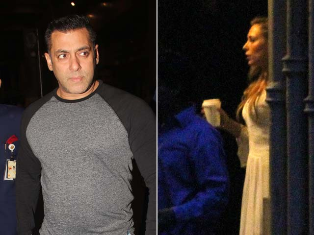 Iulia Vantur, Arpita and Alvira Visit Salman Khan After Acquittal